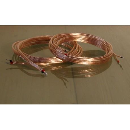 2 cables de 5 mètres pour HP